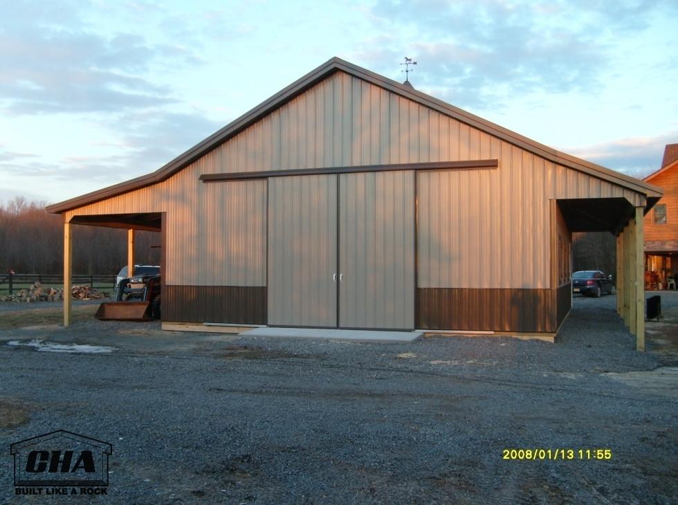 equestrian pole barn