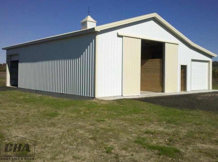 horse pole barn